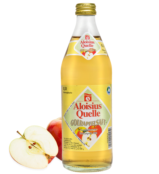 Aloisius-Quelle-Goldapfelsaft